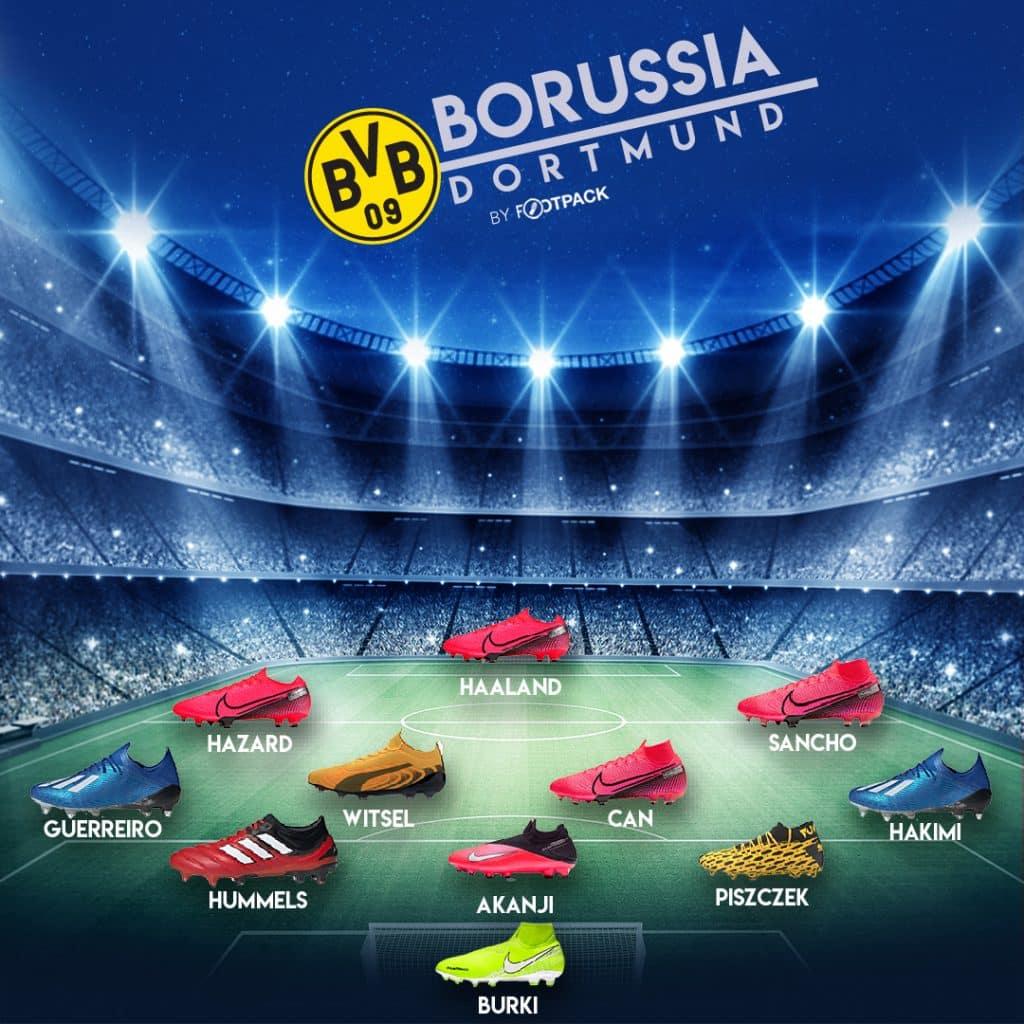 Les chaussures du match Dortmund PSG Paris Saint Germain