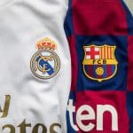 Les chaussures de Real Madrid – FC Barcelone