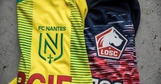 Image de l'article Des maillots du FC Nantes et du LOSC à gagner grâce à New Balance et Footpack!