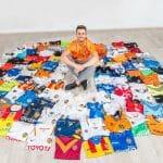 #Kitoutchallenge, le challenge des collectionneurs de maillots de foot
