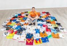 Image de l'article #Kitoutchallenge, le challenge des collectionneurs de maillots de foot