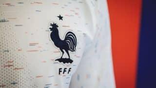 Les maillots de l'équipe de France à l'Euro