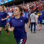 Pourquoi les joueuses des États-Unis ont porté leurs maillots à l'envers ?