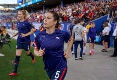 Image de l'article Pourquoi les joueuses des États-Unis ont porté leurs maillots à l'envers ?