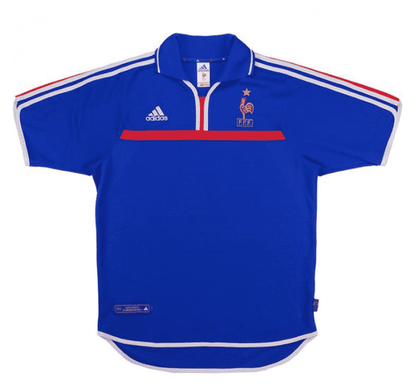 maillot-equipe-de-france-2000