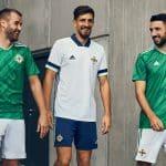 L'Irlande du Nord et adidas dévoilent les maillots pour 2020-2022