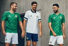 Image de l'article L'Irlande du Nord et adidas dévoilent les maillots pour 2020-2022