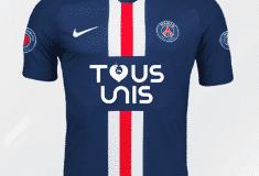 Image de l'article Le PSG dévoile un maillot spécial pour aider le personnel soignant