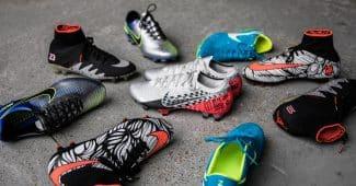 Image de l'article Toutes les chaussures de foot signatures de … Neymar