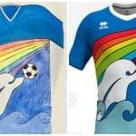 Un maillot imaginé par un enfant sera porté par les joueurs de Pescara