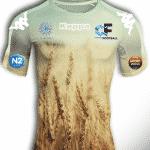Quand un club de foot dévoile un maillot qui rend hommage … au blé!