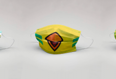 Image de l'article Le FC Nantes lance ses propres masques de protection aux couleurs du club