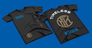 Image de l'article L'Inter Milan lance la collection Timeless2010 en souvenir de son triplé historique