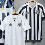 Umbro présente les maillots 2020-2021 de Santos