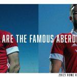 adidas présente les maillots 2020-2021 de Aberdeen