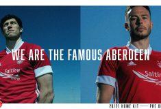 Image de l'article adidas présente les maillots 2020-2021 de Aberdeen