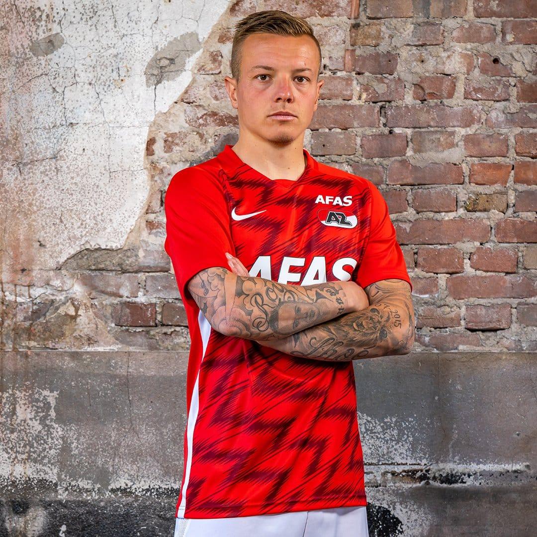 maillot-domicile-az-alkmaar-2020-2021-nike-2
