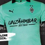 Le Borussia Monchengladbach dévoile un maillot qui aidera à fournir des masques