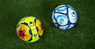Image de l'article uhlsport présente les ballons 2020-2021 de la Ligue 1 et de la Ligue 2