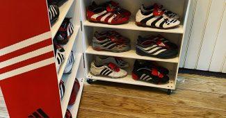 Image de l'article Un collectionneur d'adidas Predator s'offre le rangement parfait!