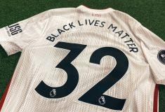 Image de l'article En Premier League, Black Lives Matter sera présent sur les maillots et les ballons
