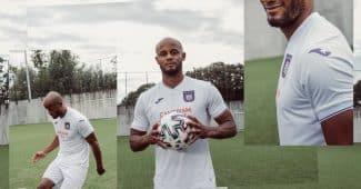 Image de l'article Anderlecht dévoile ses maillots 2020-2021 avec Joma