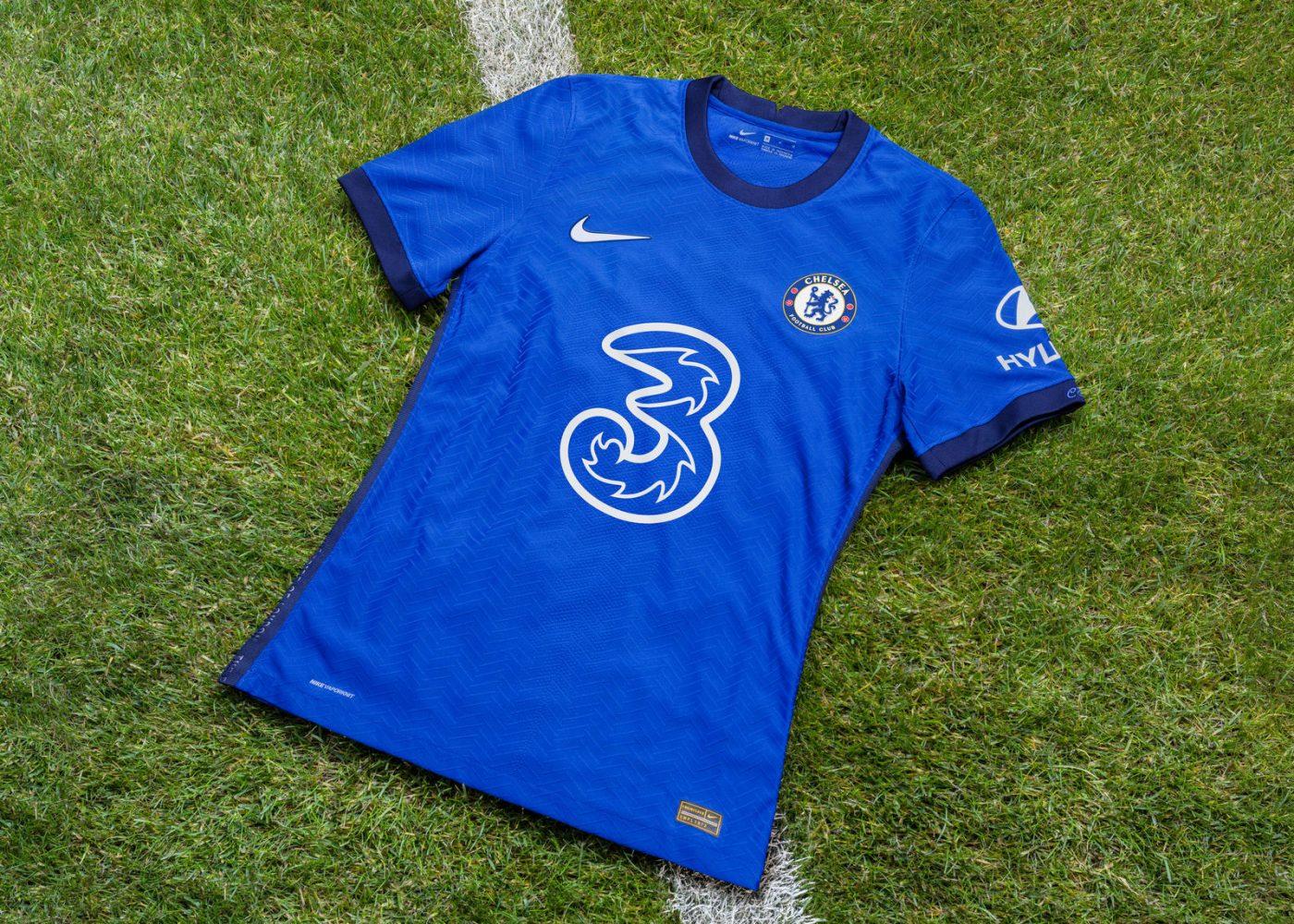 Nike Nouveau Maillot Enfant Chelsea Fc Extérieur Flocage