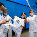 Puma et l'OM offrent 15 000 maillots aux soignants
