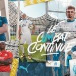 L'Olympique de Marseille et Puma présentent les maillots 2020-2021