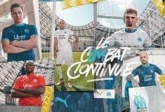 Image de l'article L'Olympique de Marseille et Puma présentent les maillots 2020-2021