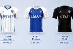 Image de l'article Le SC Bastia présente ses maillots adidas 2020-2021