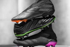 Image de l'article « Darkmotion », le nouveau pack de crampons full black d'adidas