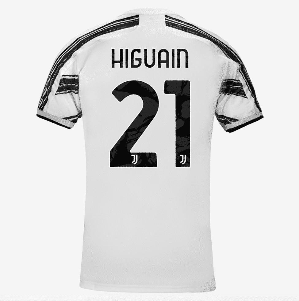 flocage-higuain-maillot-juventus-2020-2021