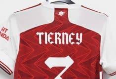 Image de l'article Un flocage inédit sur le maillot d'Arsenal pour la finale de FA Cup