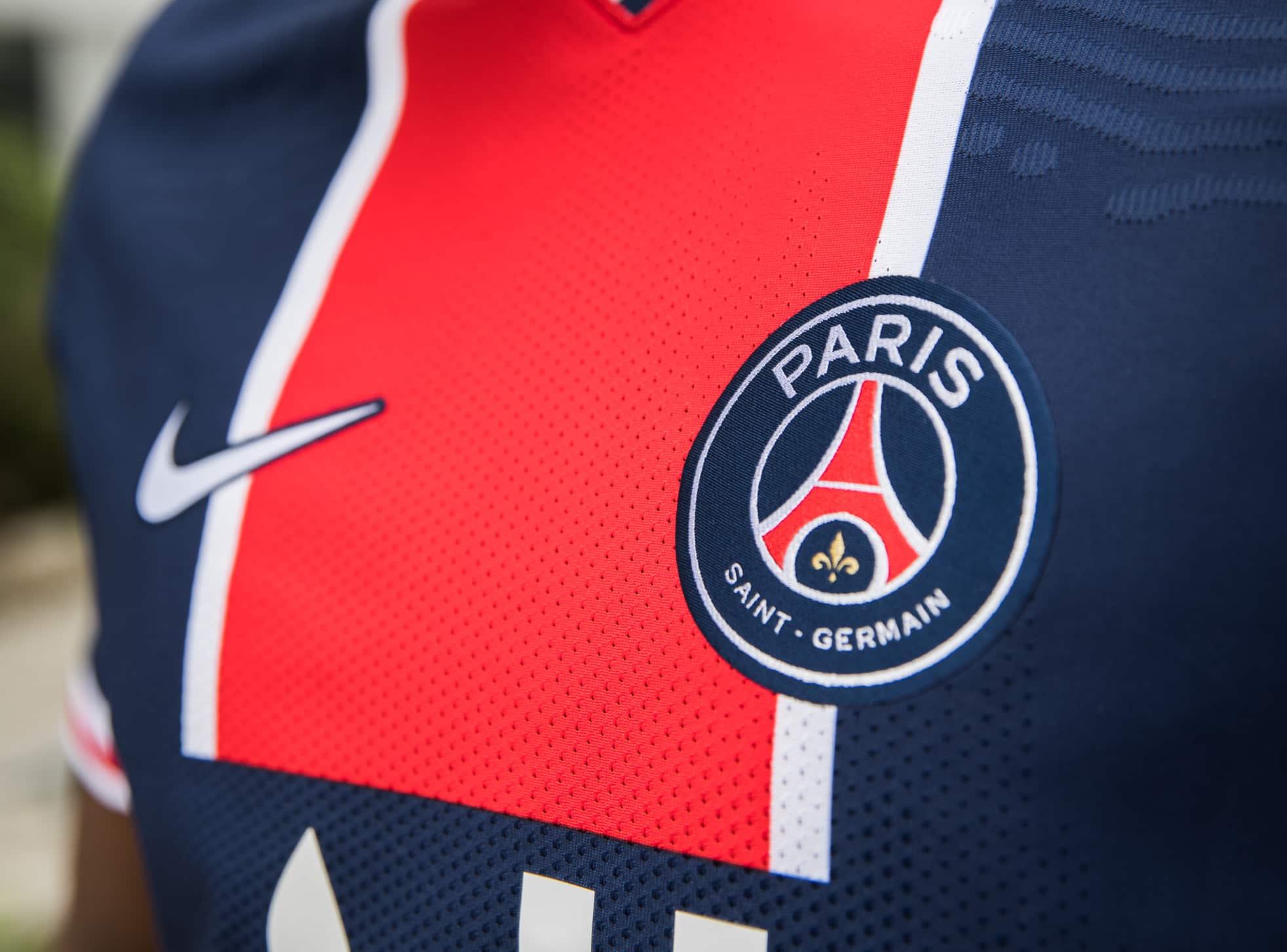 Champions League FLOCAGE MARQUINHOS #5 Paris Exterieur 2020-2021 Away Nameset