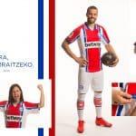 Kelme et le Deportivo Alavés présentent les maillots 2020-2021