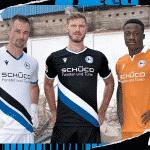 Macron révèle les maillots 2020-2021 de l'Arminia Bielefeld
