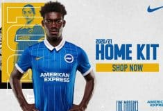 Image de l'article Nike et Brighton officialisent les maillots 2020-2021
