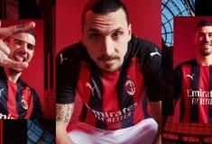 Image de l'article Puma et l'AC Milan dévoilent les maillots 2020-2021