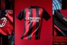 Image de l'article Le maillot domicile de l'AC Milan, élu plus beau maillot Puma de la saison