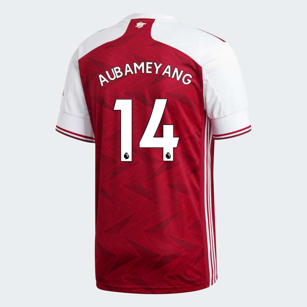 maillot-domicile-arsenal-2020-2021-adidas-aubameyang