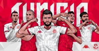 Image de l'article Kappa présente les maillots de la Tunisie pour 2020-2022