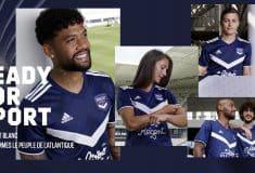 Image de l'article adidas présente les maillots 2020-2021 des Girondins de Bordeaux