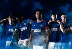 Image de l'article Castore présente les maillots 2020-2021 des Rangers