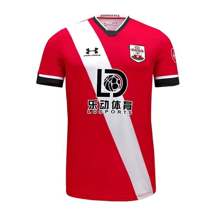 maillot-domicile-southampton-under-armour-2020-2021