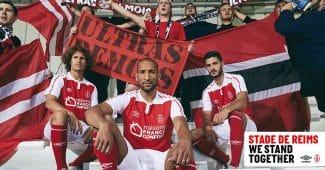 Image de l'article Le Stade de Reims et Umbro officialise les maillots 2020-2021