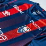 Umbro et le SM Caen présentent les maillots 2020-2021