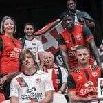 Umbro présente les maillots 2020-2021 de l'EA Guingamp
