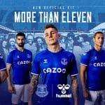 Everton remporte un prix pour le lancement de ses maillots!