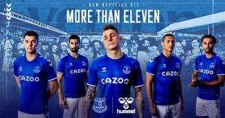 Image de l'article Everton remporte un prix pour le lancement de ses maillots!